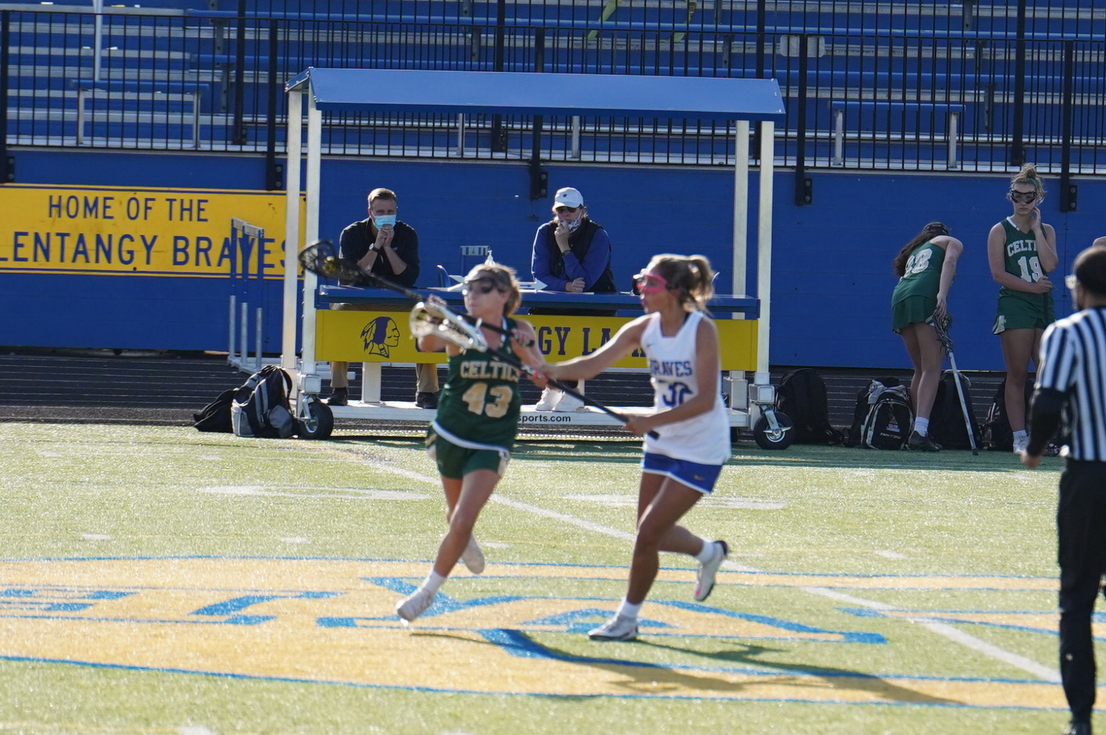 Girls JV Lacrosse vs. Olentangy 4/13 (photos)