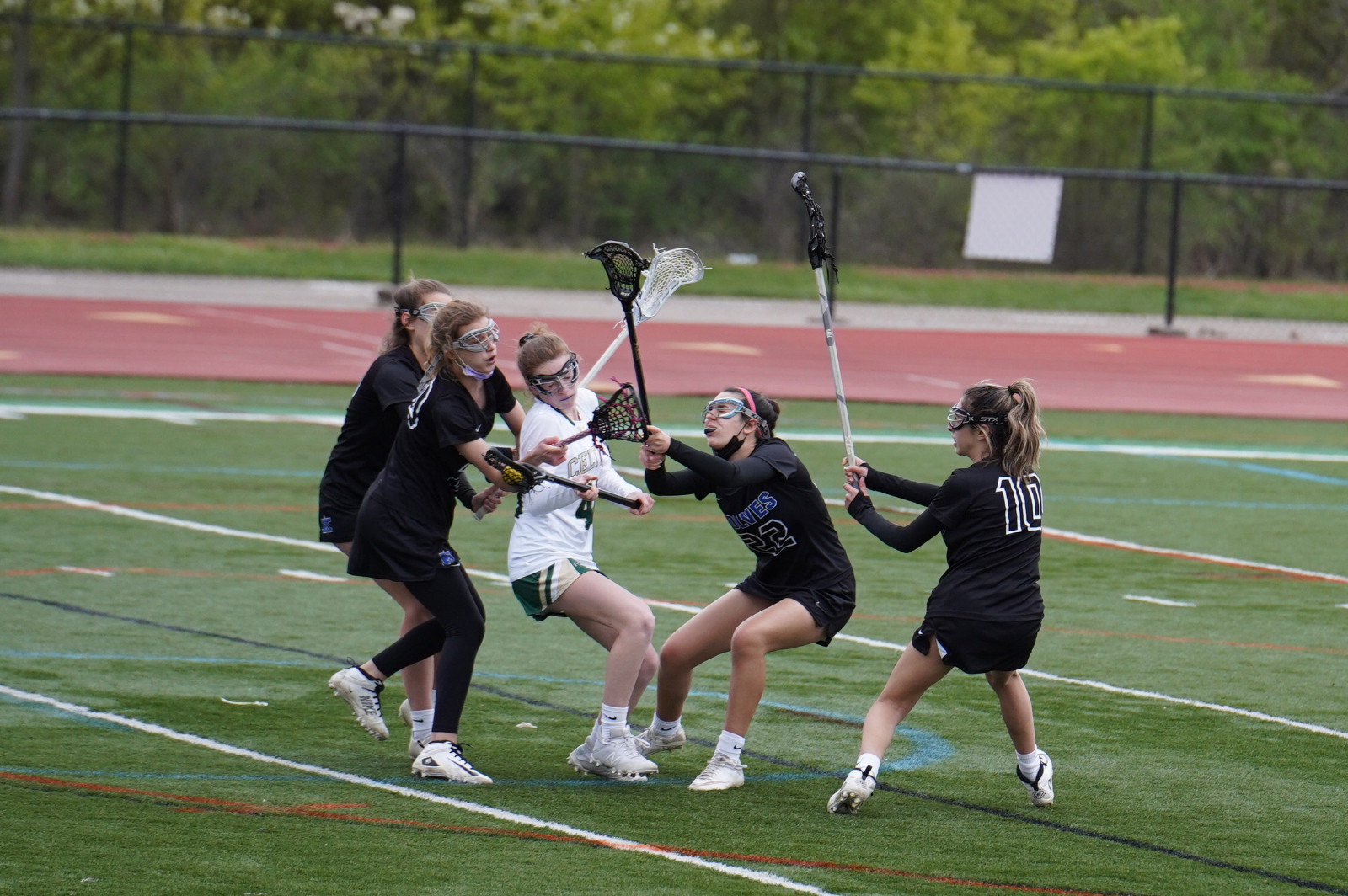 Girls JV Lax vs. Worthington Kilbourne (photos) 4/15