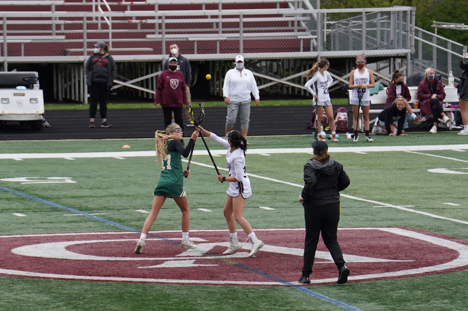 JV Girls Lacrosse vs. Columbus Academy 4/17 (photos)