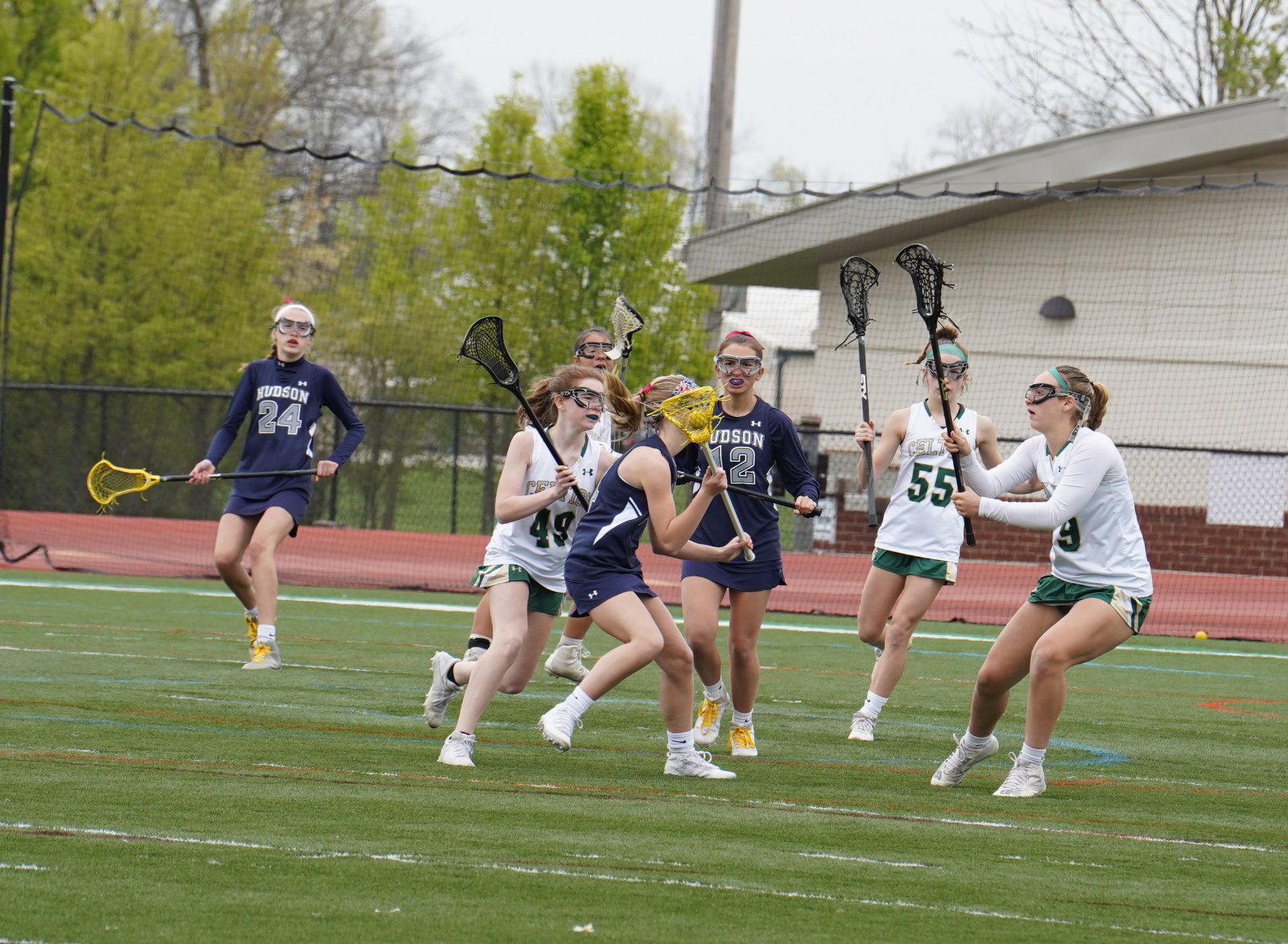 JV Girls Lacrosse vs. Hudson 4/25 (photos)