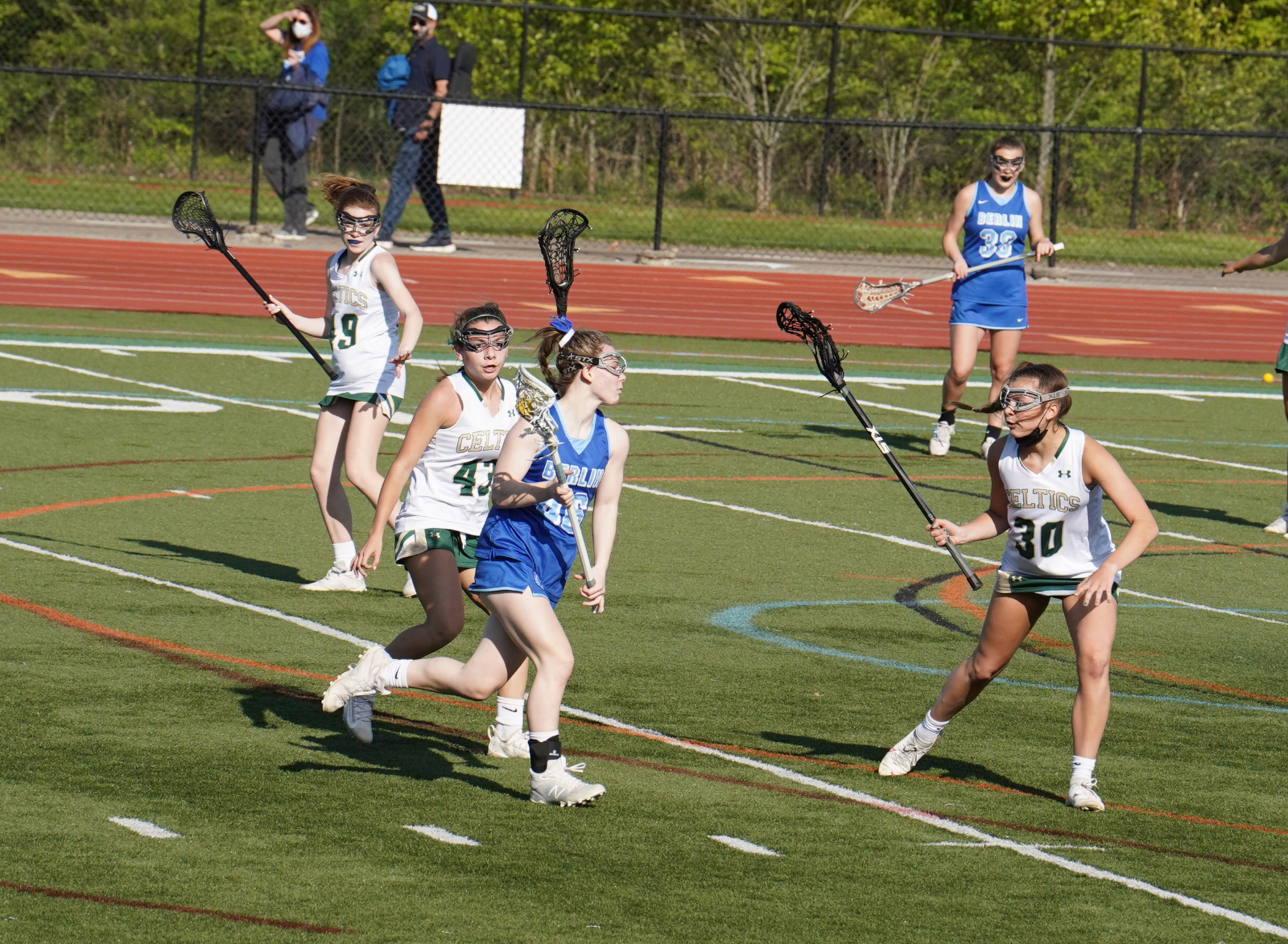 JV Girls Lacrosse vs. Olentangy Berlin 4/27 (photos)