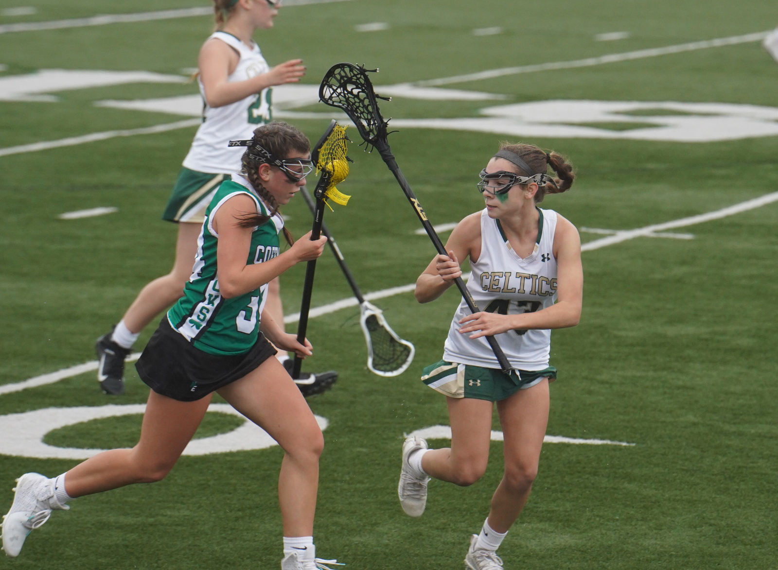 JV Girls Lacrosse vs. Coffman 4/29 (photos)