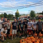 Wrestlers help out at DWUMC
