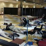 Harrison Rifle team in action