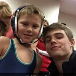 Harrison wrestlers come out to support Junior program