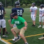 Spring football practice for our Hoyas