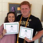 Carl Harrison Leadership Award winners