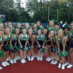 Cheerleaders support Hoya win at Pope