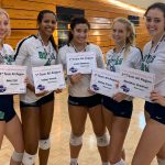 Hoya Volleyball Players Honored