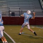 South Salem High School Junior Varsity Football beat McKay 50-35