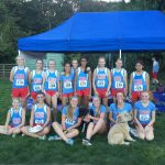 South Salem High School Coed Varsity Cross Country finishes 1st place