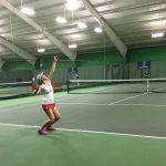 South Salem High School Girls Varsity Tennis beat Mc Kay High School 7-1