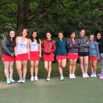 Saxon Girl's Tennis Falls to West Albany