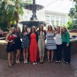 Saxon Women's Tennis Competes at National DECA Competition