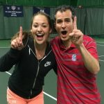 Tennis Teams Combine to Compete in Mixed Doubles Tournament