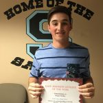 Dave Johnson Athlete of the Week April 25th-29th
