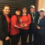 South Salem High School Girls Varsity Golf finishes 1st place