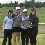 South Salem High School Girls Varsity Golf District Champions!