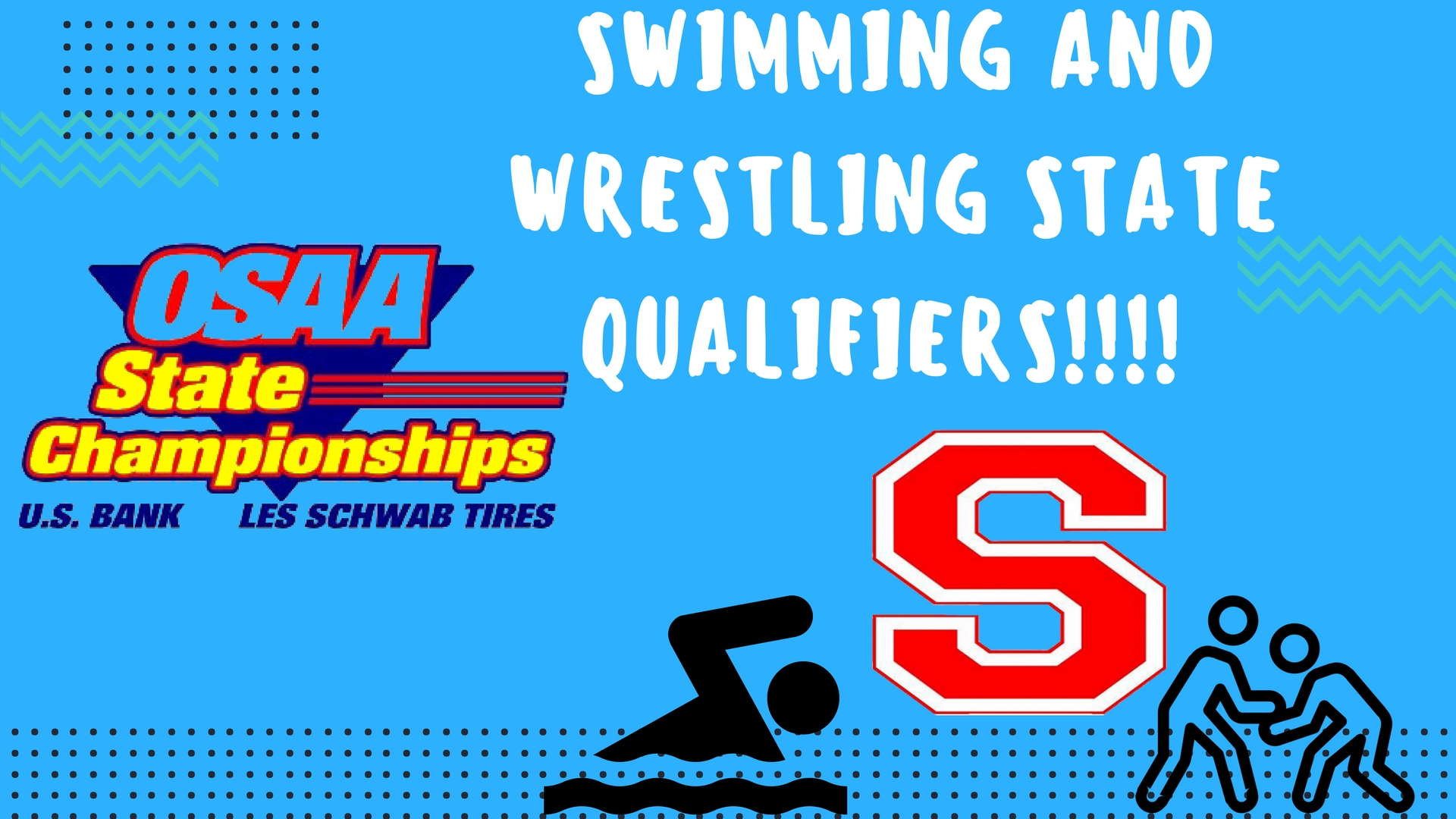Swimming and Wrestling State Qualifiers!!!!