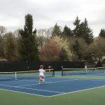 Saxon Tennis Edges Lakeridge 5-3