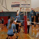 2018 JV Volleyball vs West Salem