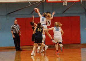 2019 Varsity Girls Basketball vs Bend