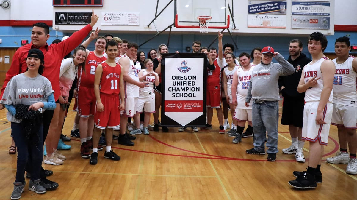 South Salem High School Honored as Unified Champion School
