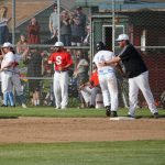 BASE: Saxons defeat Sheldon, 9-4, in 1st round matchup