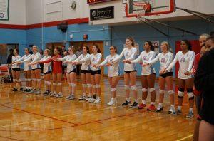 2019 Varsity Volleyball vs West Salem