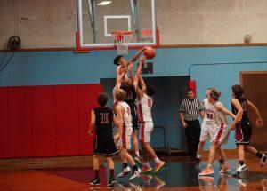 2019 Freshman Boys Basketball vs Tualatin