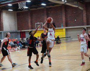 2019 Freshman Boys Basketball vs Scappose