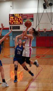 2020 Varsity Girls Basketball vs McNary