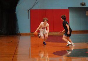 2020 JV Boys Basketball vs McNary