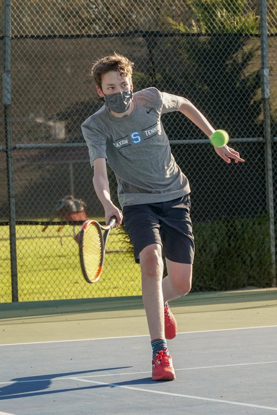2021 JV Boys Tennis vs Silverton
