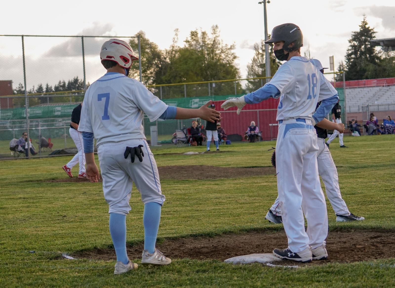 2021 JV2 Baseball vs Central