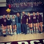 Paloma Valley High School Girls Varsity Volleyball beat Perris High School 3-0