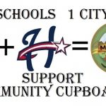 2 Schools 1 City – Support Community Cupboard