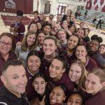 Girls Varsity Volleyball beats Notre Dame/Riverside 3 – 0