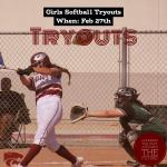 Softball Tryouts 2021