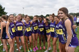 Baldwin Fighting Highlanders Cross Country Highlights – Red, White and Blue Invitational