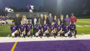 Baldwin Fighting Highlanders Boys Soccer Highlights – Senior Night