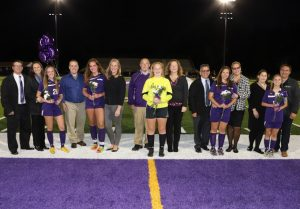 Baldwin Fighting Highlanders Girls Soccer Highlights – Senior Night
