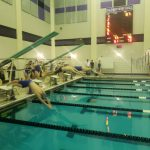 Fighting Highlanders Boys/Girls Swimming defeated by South Park. #HailToTheFightingHighlanders