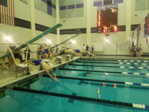 Baldwin Fighting Highlanders Swimming Highlights