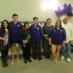 Baldwin Fighting Highlanders Boys/Girls Swim Highlights – Senior Night