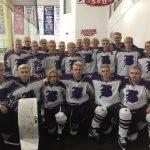 The Baldwin Fighting Highlanders Varsity Hockey team defeats Mars 3-2 in 2020 PIHL Penguins Cup Semifinals. #HailToTheFightingHighlanders