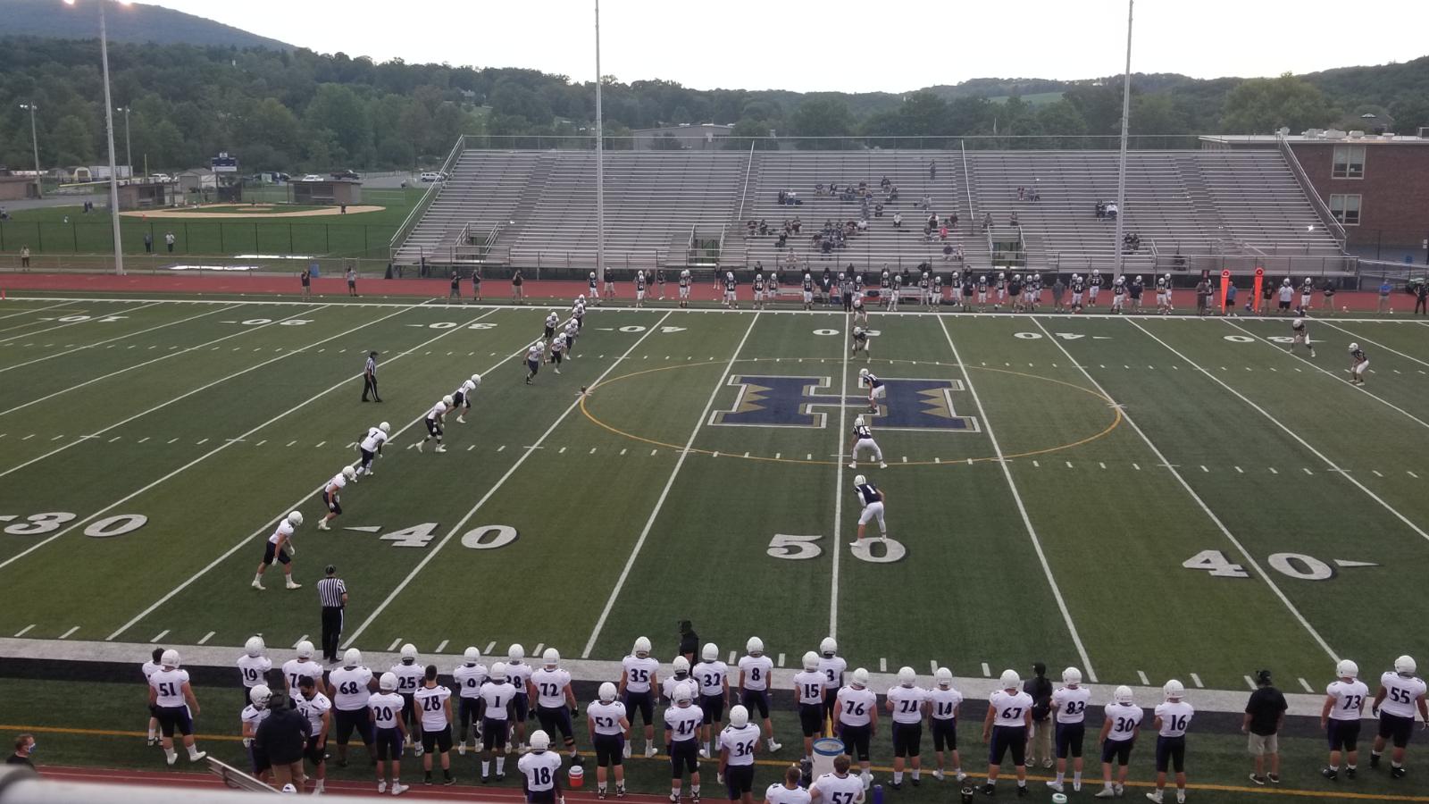 Baldwin vs. Hollidaysburg, Hollidaysburg High School (09/11/20)
