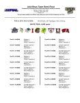 BHS Golf Team, WPIAL Playoff Announcement – BHS Athletics