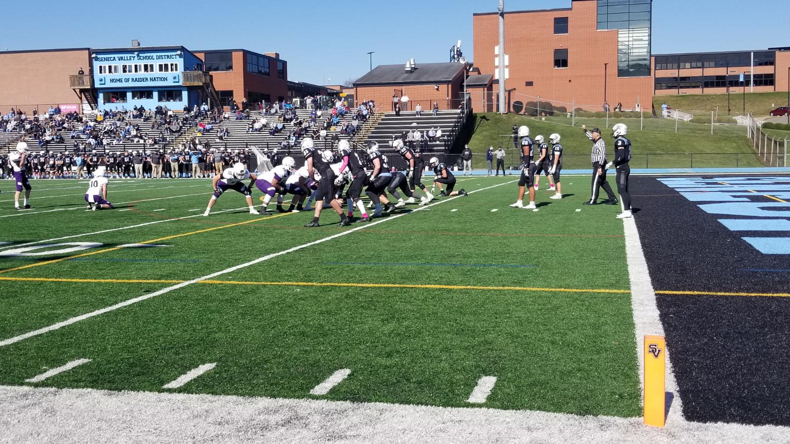 Baldwin vs. Seneca Valley, Seneca Valley High School (10/16/20)