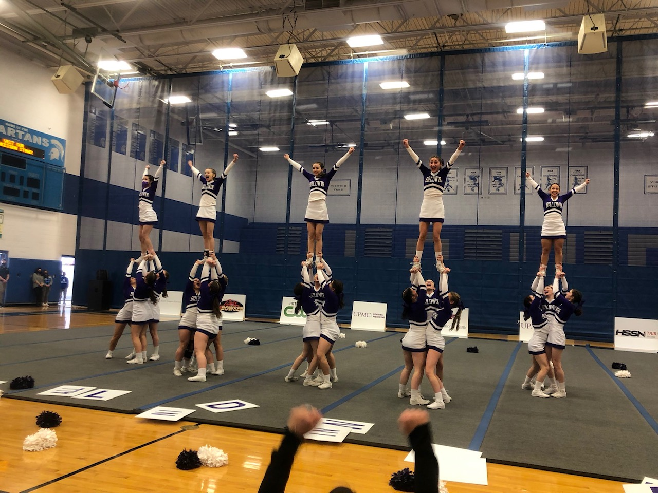 BHS Competitive Cheer, WPIAL AAA Championships, Hempfield High School (03/13/21)